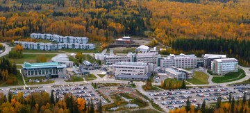 Campus at the University of Northern BC