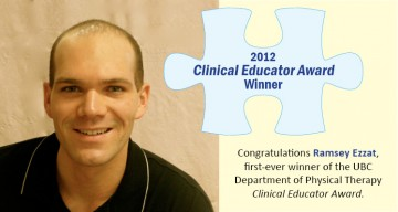 Ramsey Ezzat Department of Physical Threrapy Clinical Educator 2012