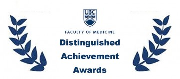 Associate Professor, Alex Scott receives the UBC Faculty of Medicine Overall Excellence – Early Career award