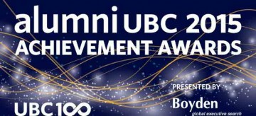UBC Grad, Sheila Purves, honored with the 2015 Global Citizenship Award
