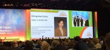 Linda Li, The 2015 Association of Rheumatology Health Professional Distinguished Scholar
