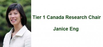Janice Eng awarded a Tier I Canada Research Chair