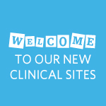 Welcome to our NEW Clinical Sites – Feb 2021